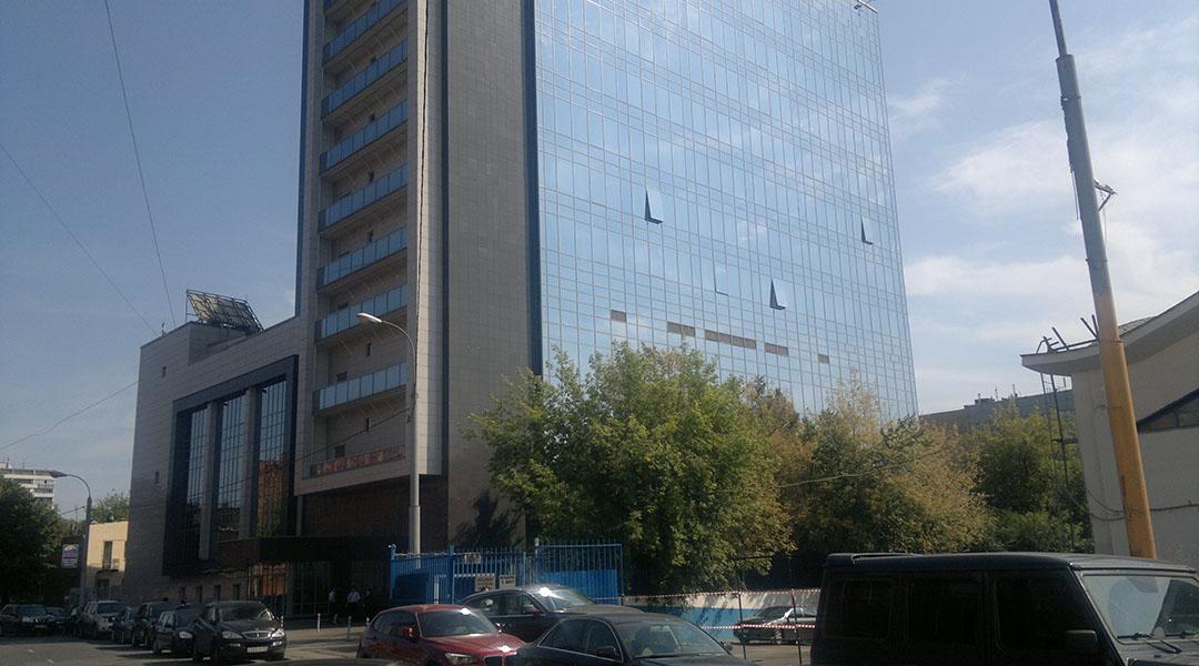"""Poslovna zgrada """"ICN Pharmaceuticals"""" , Usačeva, Moskva, Rusija"""