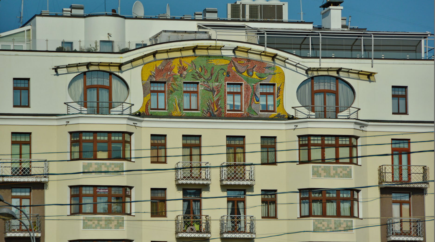 "Stambeni blok ""ВРЕМЕНА ГОДА"", Staromonetni, Moskva, Rusija"