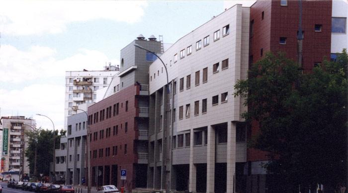 """Poslovna zgrada """"Сибирский алуминиум"""" ,Ročdeljska Moskva, Rusija"""