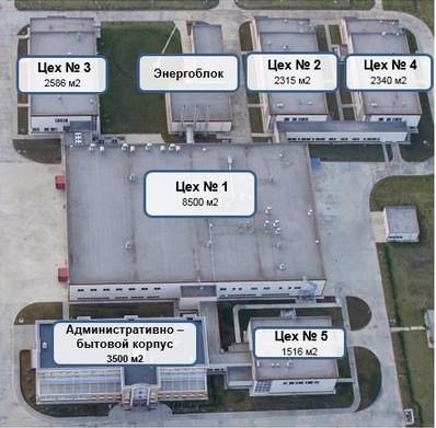 "Farmaceutski pogoni ""РАФАРМА""   17250 m2 proizvodnog pogona, 250 čistih soba"