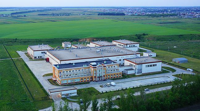 "Farmaceutski pogoni ""РАФАРМА"", Terbuni, Lipecka oblast, Rusija (proizvodnja lekova, 250 čistih soba)"