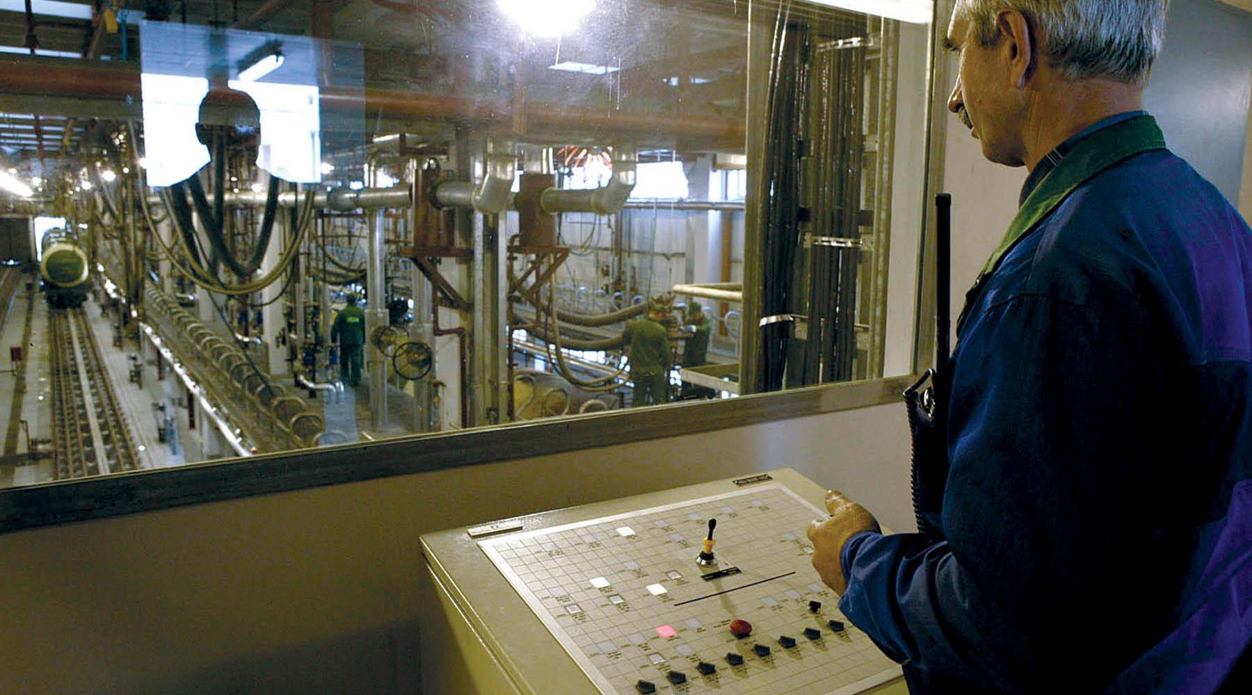 Postrojenje za pranje cisterni Samara, Rusija